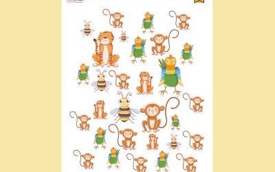 I SPY… BUSY BEE & FRIENDS